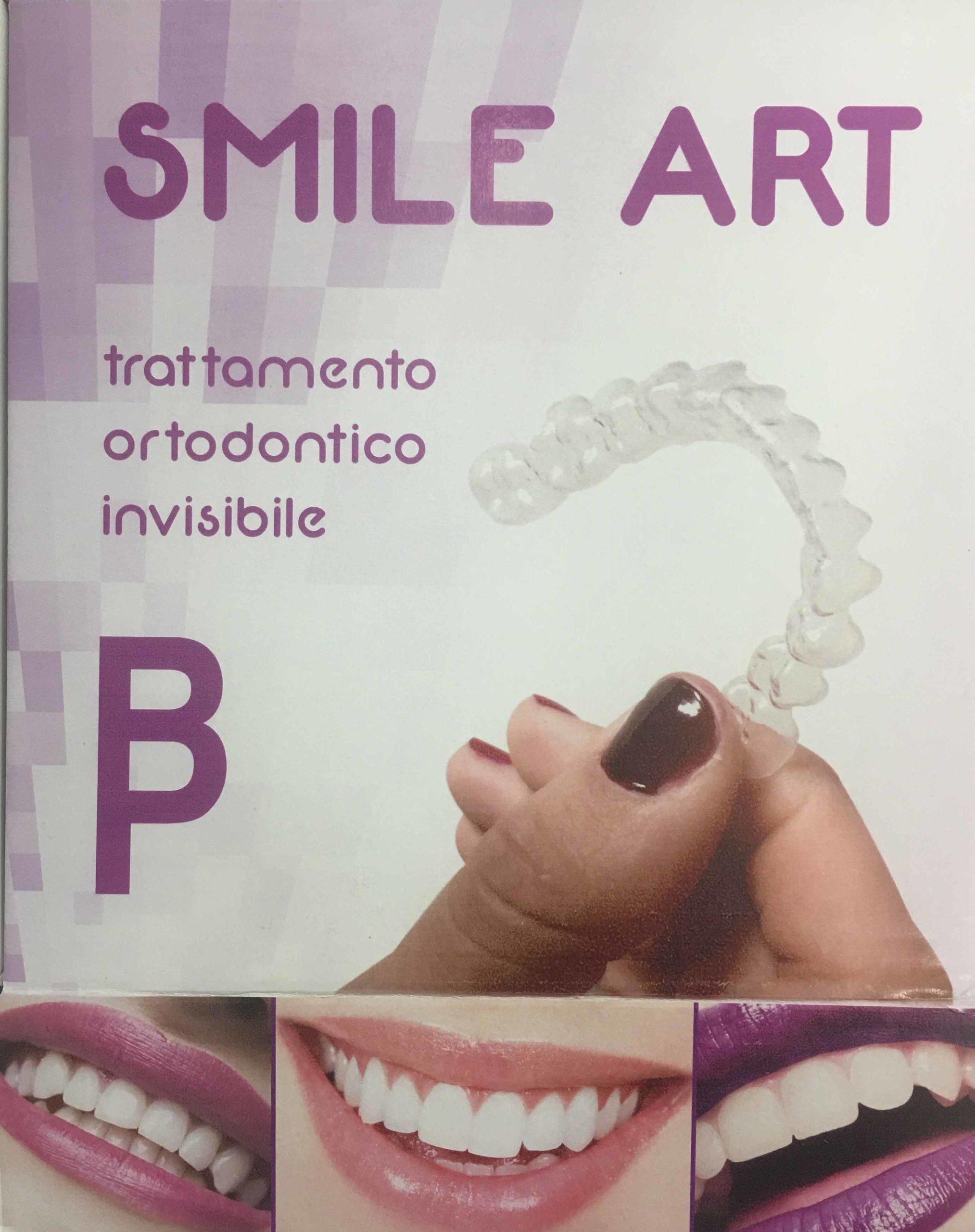 smile art trattamento ortodontico invisibile
